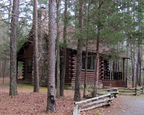 beavers bend cabins on the river